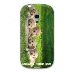 Coque personnalisable SAMSUNG TREND DUO GT-S7562