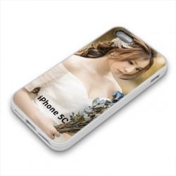 Coques souples PERSONNALISEES en Gel silicone pour iPhone 5 C
