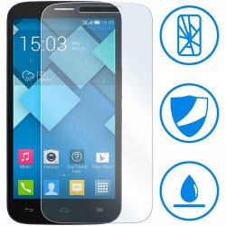 PROTECTION EN VERRE TREMPÉ POUR ALCATEL POP C9