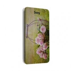 Etui portefeuille personnalisable pour Sony Xperia ES