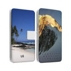 Etui personnalisable recto verso pour LG X POWER