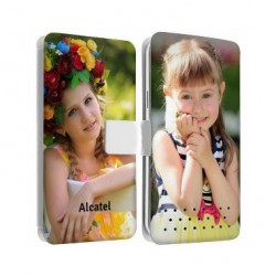 Etui personnalisable RECTO VERSO pour Alcatel Pop 4