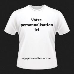T-Shirt HOMME taille M à personnaliser