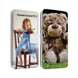 Etui personnalisable recto verso pour Huawei Ascend Y5 2