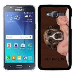 Coques souples PERSONNALISEES en Gel silicone pour Samsung Galaxy  J5