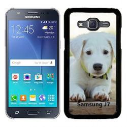 Coques souples PERSONNALISEES en Gel silicone pour Samsung Galaxy  J7