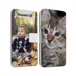 Etui personnalisable recto verso pour huawei G8