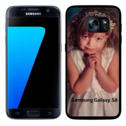 Coques souples PERSONNALISEES en Gel silicone pour Samsung galaxy S8