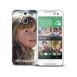 Coques souples PERSONNALISEES en Gel silicone pour HTC Butterfly