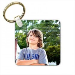 Porte clés personnalisable en bois